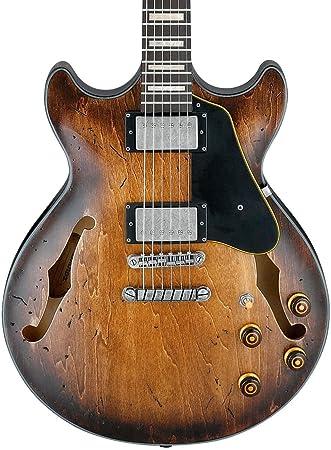 Ibanez Artcore Vintage Series amv10 a Semi-Hollow cuerpo Guitarra ...