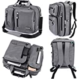 FreeBiz Laptop Bag 17 Inch Laptop Backpack Nylon Water-Resistant Briefcase with Handle and Shoulder Strap for 15.6-17.3…