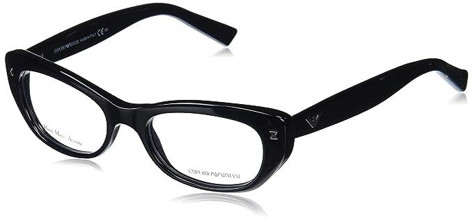 73decbb958 Michael Kors ANGUILLA MK8002 Eyeglass Frames 3001-52 - Black Blue at ...