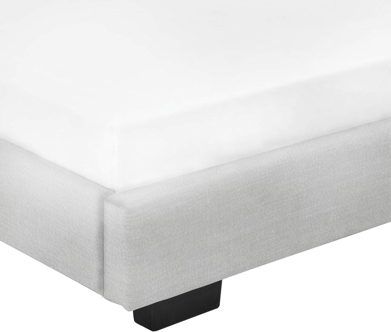 Corium Cama Individual Tapizado en Piel sintética 90 x 200 cm ...