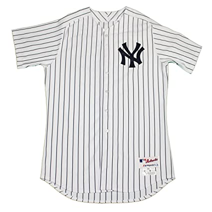 best sneakers 95085 768ed Garrett Jones Jersey - NY Yankees 2015 Team Issued #33 ...