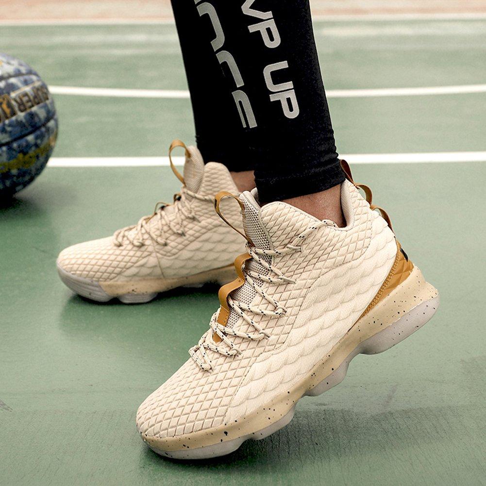 WANPUL Chaussures de Basketball Homme Chaussures de Sport Femme Respirantes Antid/érapantes Chaussures de Course