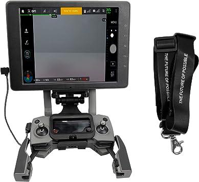 Spark CrystalSky Monitor Mavic AIR RC GearPro Control remoto plegable Soporte para tableta de tel/éfono Soporte de montaje Clip para DJI Mavic PRO