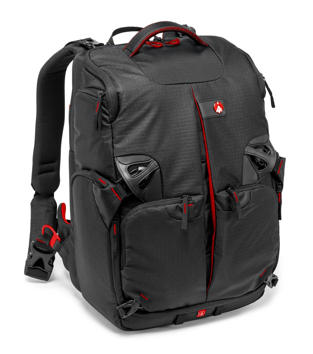 Manfrotto Phantom Pro-Light Backpack for DJI Phantom 4, Phantom 4 PRO, 3DR Solo Quadcopter Drones + Gimbal or Phantom FC40, Fits Extra Accessories GoPro Cameras and Laptop by Manfrotto