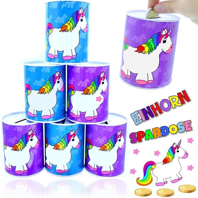 German Trendseller® 3 x alcancía de unicornio┃hucha ...