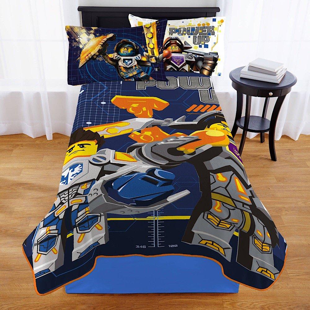 Lego Nexo Knight Kids Bedding Plush Blanket