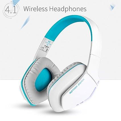 Zakitane KOTION CADA b3506 auriculares inalámbricos Bluetooth auriculares plegable Gaming Headset V4.1 con Micrófono