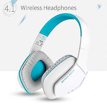 Zakitane KOTION CADA b3506 auriculares inalámbricos Bluetooth auriculares plegable Gaming Headset V4.1 con Micrófono para PS4 PC MAC smartphones ...