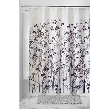 InterDesign Botanical Shower Curtain 72 Inch By Freesia