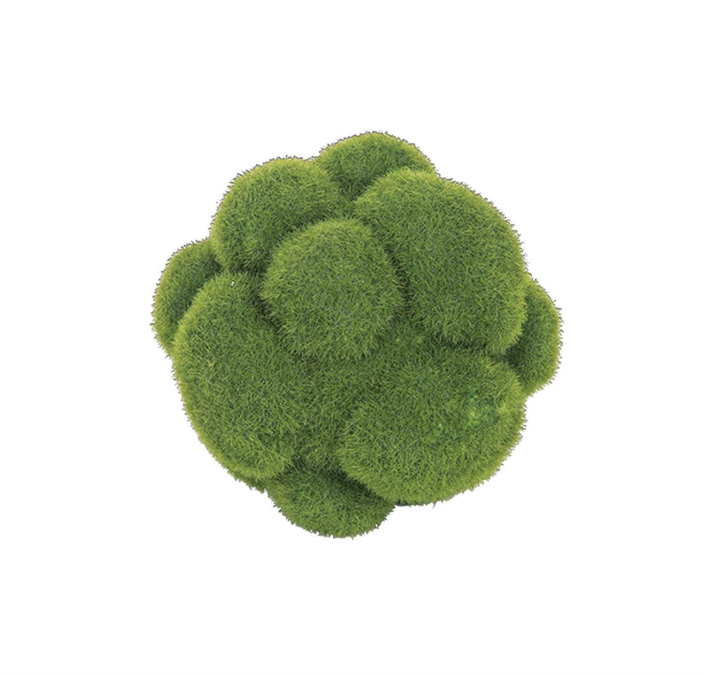 5 Diameter Faux Fuzzy Moss Decorative Ball DCI