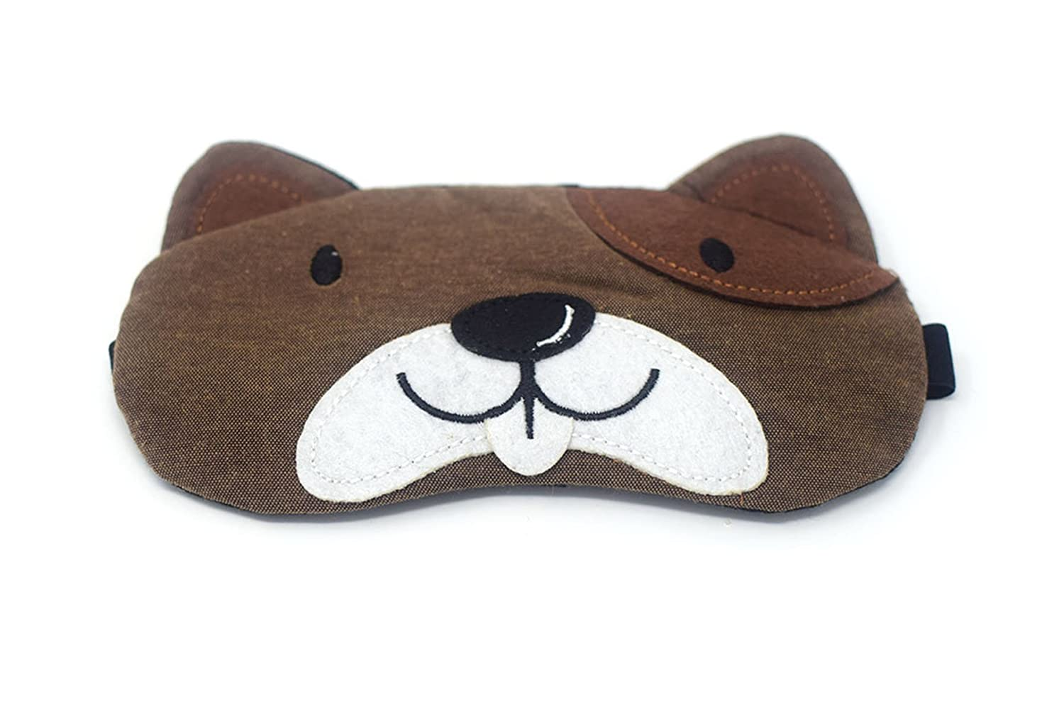 Dog Plush Sleep Eye Masks Animal Mask with Detachable Reusable Ice Pack Hot Cold  Gel Perfect for Use as a Warm or Cold Compress for Tired Puffy Swollen Eyes  ... 7da97360b3