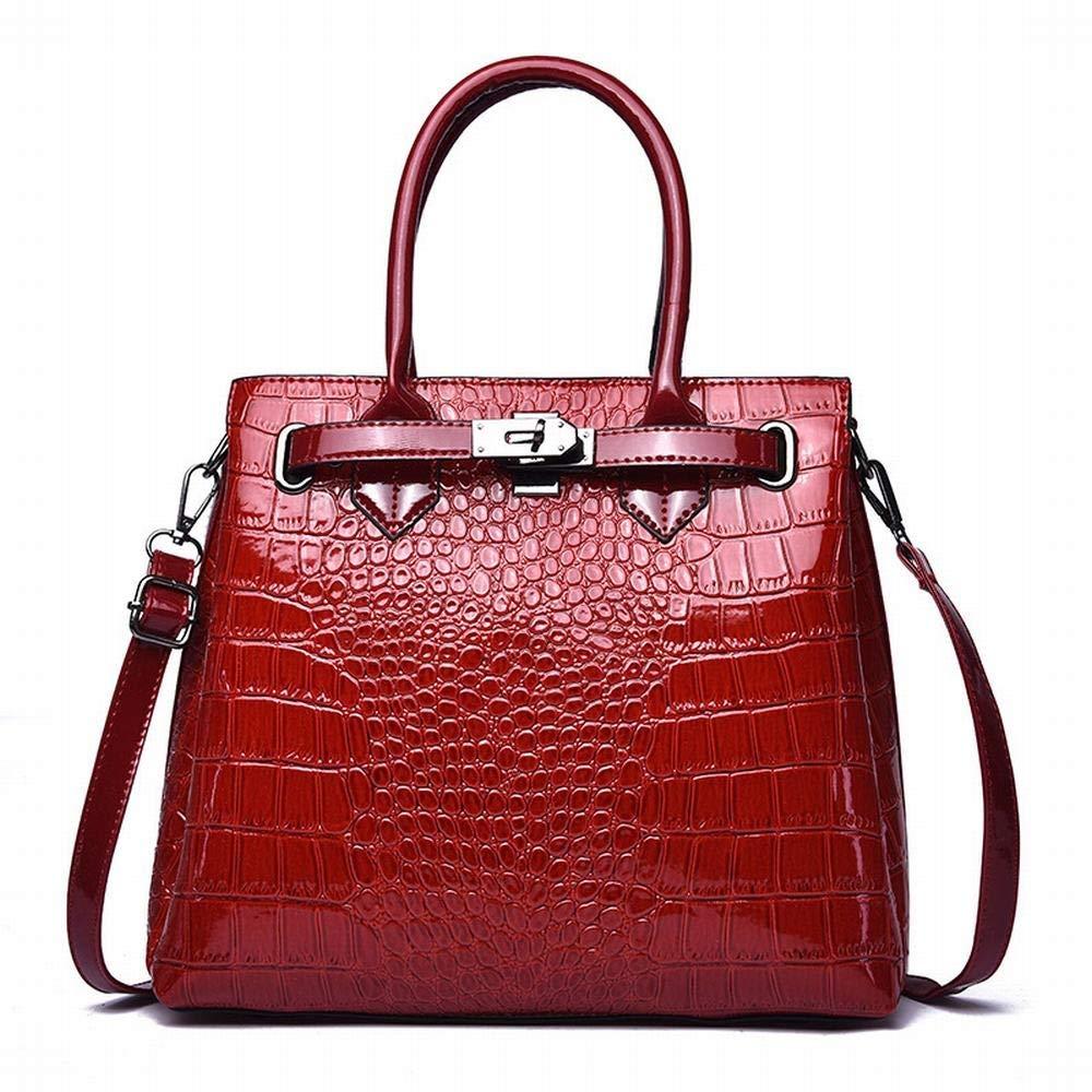 FELICIOO Damenhandtaschen, Businessmode, Umhängetasche, diagonale Umhängetasche (Farbe (Farbe (Farbe   rot) B07Q8K3TJ7 Schultertaschen Unsere Kleidung gibt Ihnen viel SelbstGrünrauen 310fa2