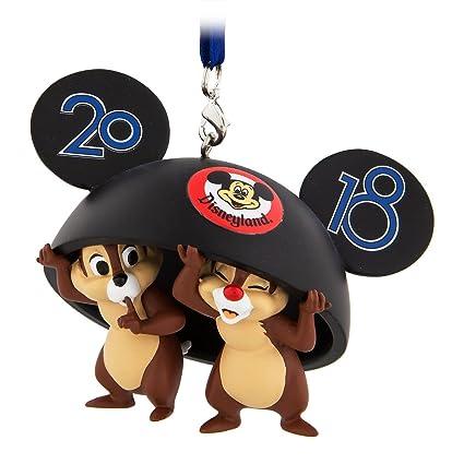 Disney Chip N Dale Mickey Mouse D Oreille Chapeau 2018 Ornement