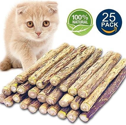 Amazon Com Matatabi Cat Catnip Sticks 25 Pcs Or 50 Pcs Cat Chew