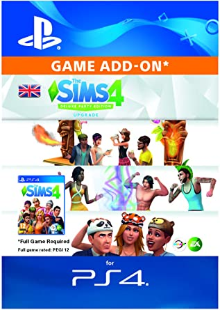 The Sims 4 Deluxe Party Dlc Ps4 Download Code Uk Account