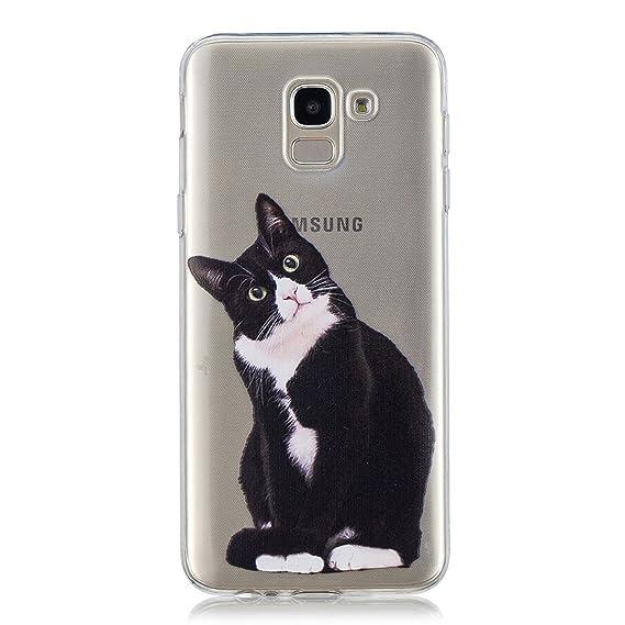 Kihying Funda para Samsung Galaxy J6 2018 / SM-J600 Funda Cáscara ...