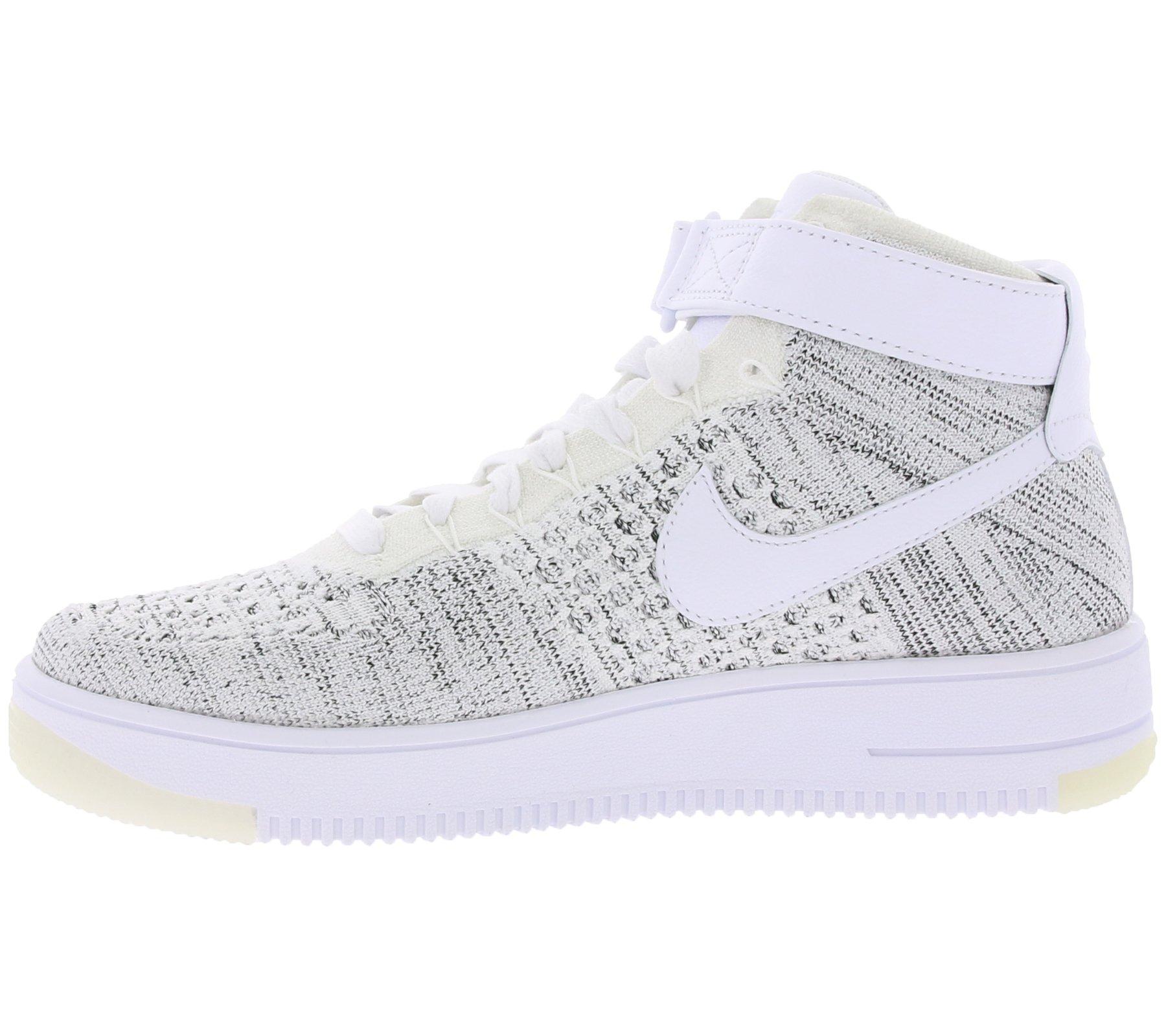 Bianco Flyknit W 818018101 Taglia 5 40 AF1 Colore Nike Grigio q1ROXwx1