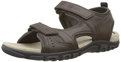 Geox UOMO SANDAL STRADA Blue - Chaussures Sandale Homme
