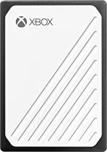 WD 500GB Gaming Drive Accelerated for Xbox One, Portable External SSD - WDBA4V5000AWB-WESN