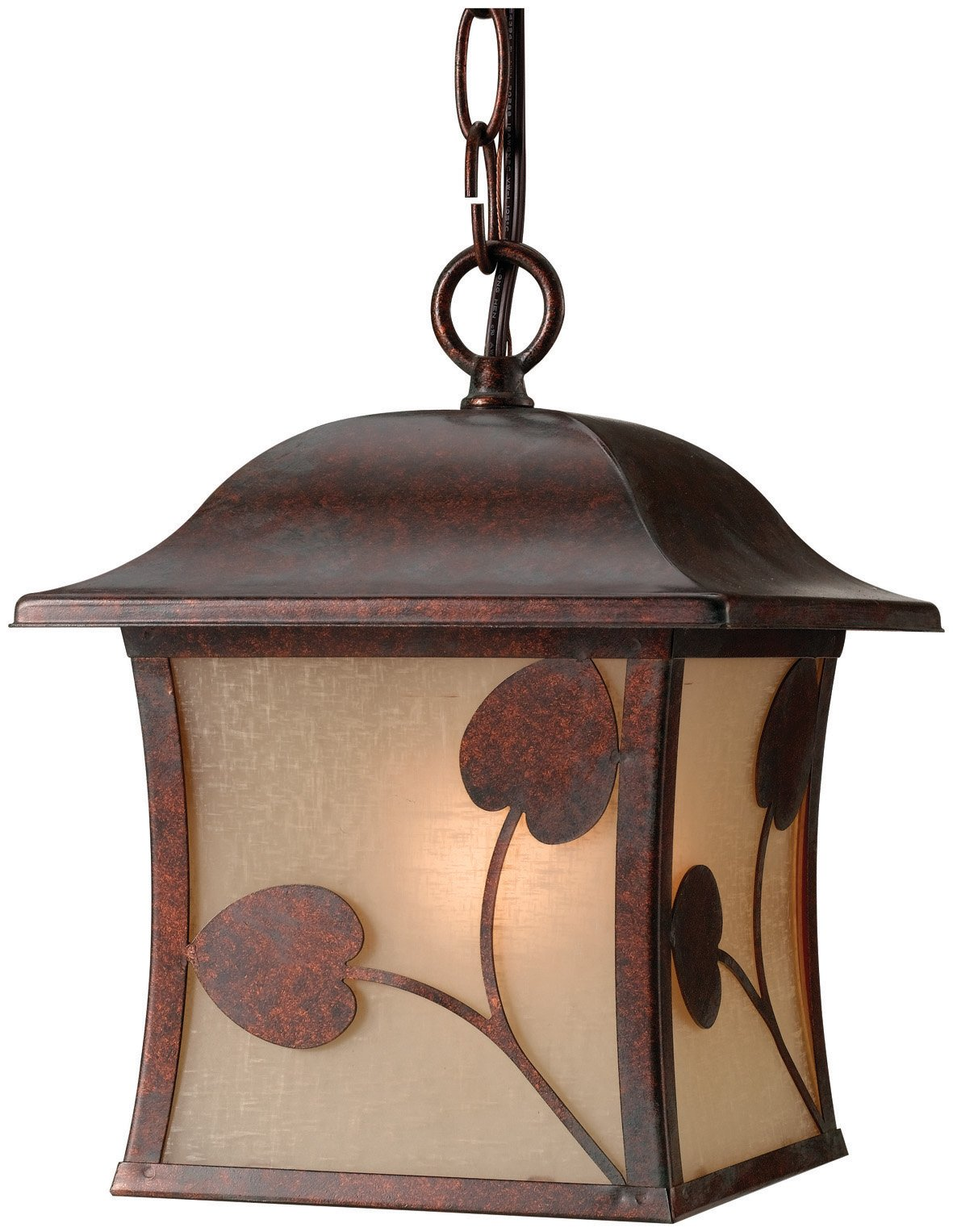 Hardware House H10-3527 Madison Outdoor Fixture Hanging Light, Royal Bronze