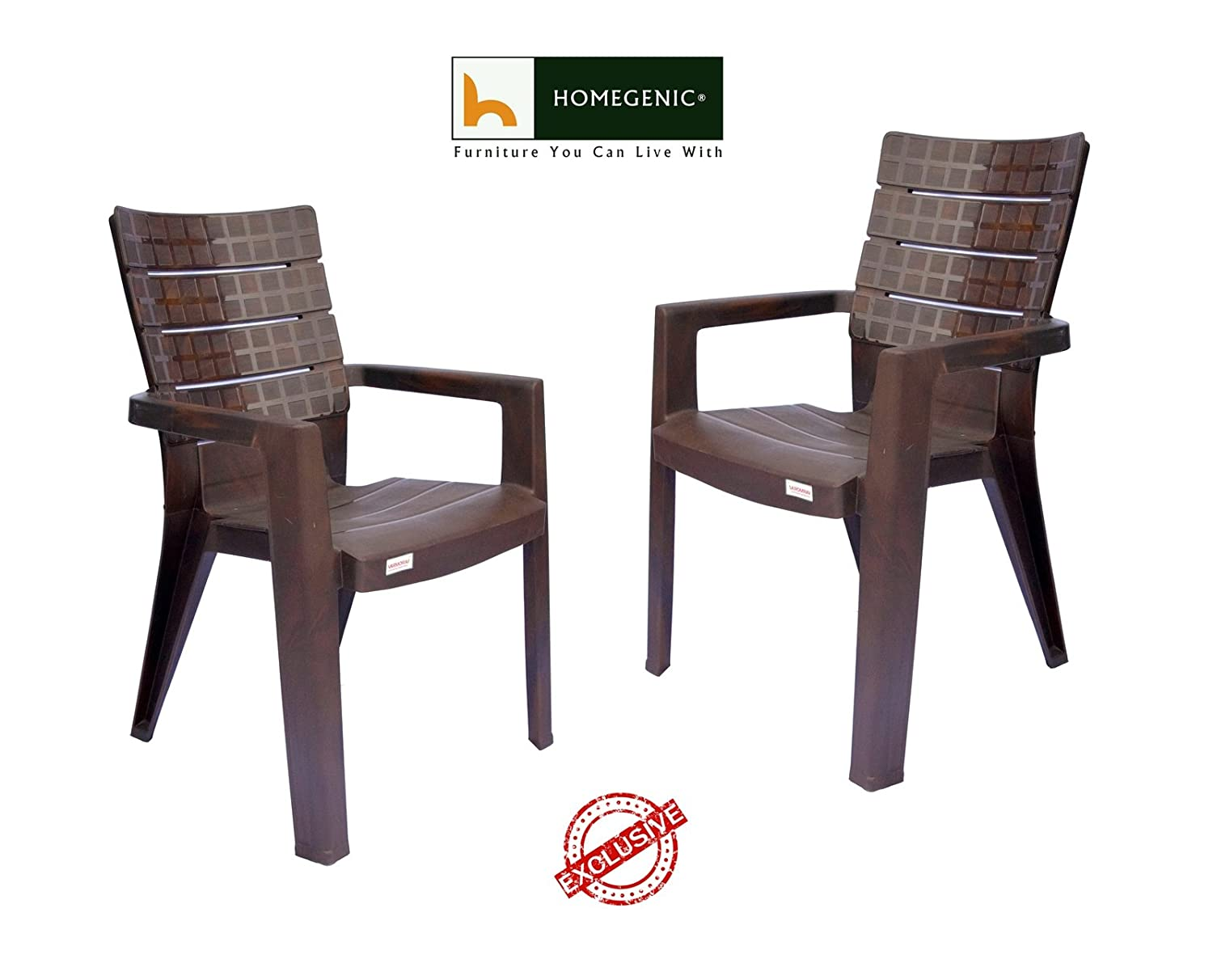 Homegenic artistic chess designer chairs matte rose wood set of 2 amazon in home kitchen