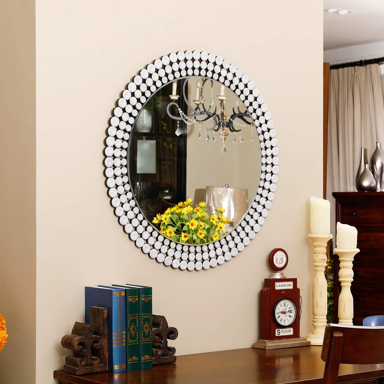 Amazon.com: KOHROS - Espejo de pared con diseño de véneto ...