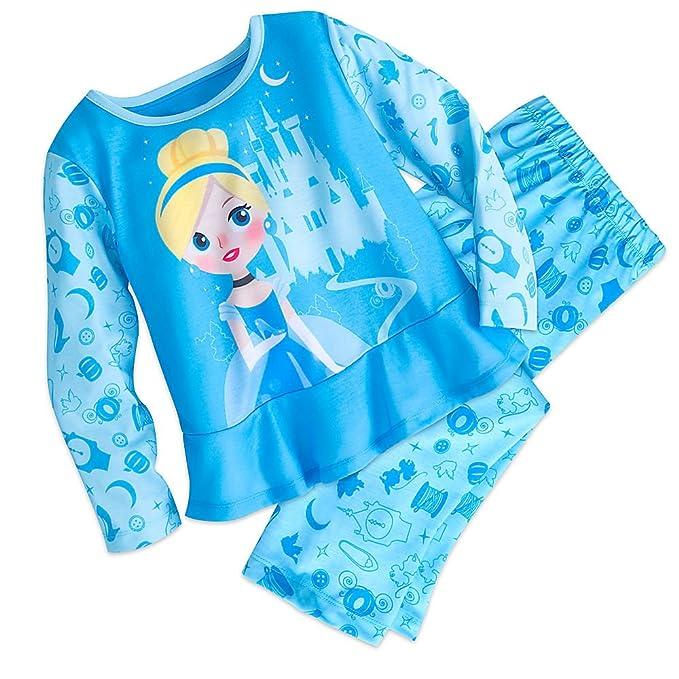 Amazon.com  Disney Cinderella Sleep Set Pajamas for Girls  Clothing 7c6dc01b5