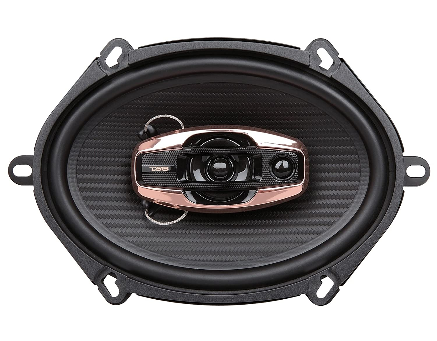 DS18 6.5 3-Way Coaxial Speakers RMS Power: 55W Max Power: 165W BD-X653 Automotive Dummy vendor code for NIS - Set of Two Speakers DS18Sound