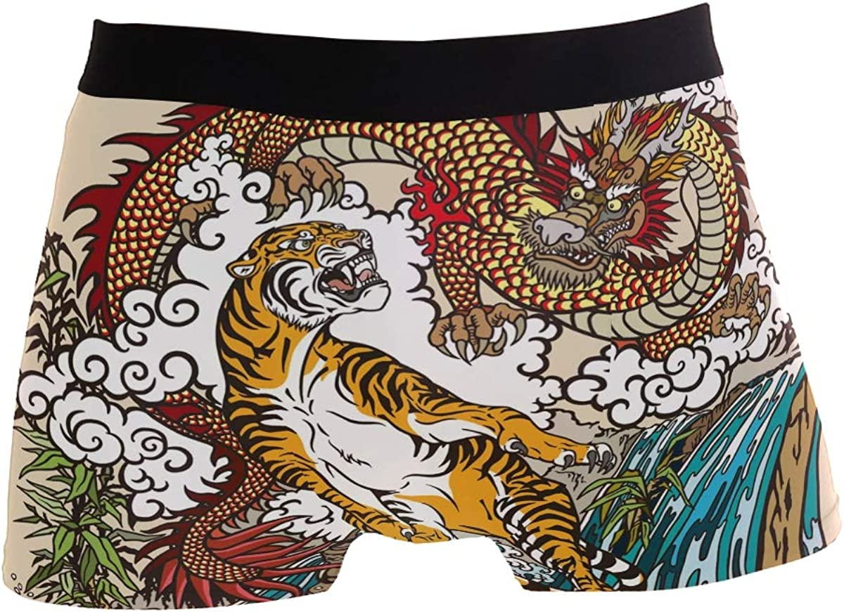 CHINEIN Mens Boxers Briefs Men Boxer Shorts Mens Trunks Chinese Horoscope Rat Year 2020 Mice Xmas Dress Up