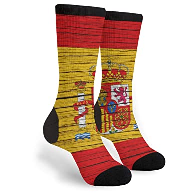 Amazon.com: España Textura de madera bandera española para ...
