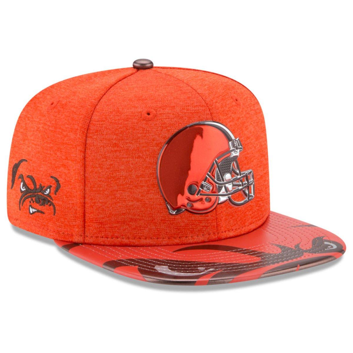 New Era Snapback Cap - NFL 2017 DRAFT Cleveland Browns ...