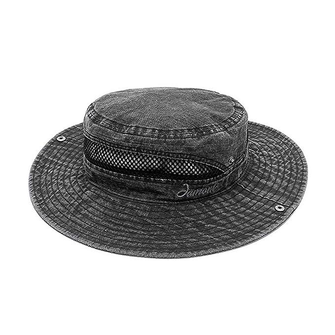 446f91c96da 2019 New Wide Brim Fishing Hat Men Women Summer Bucket Hats Hiking Cap  Outdoor Sport Sun