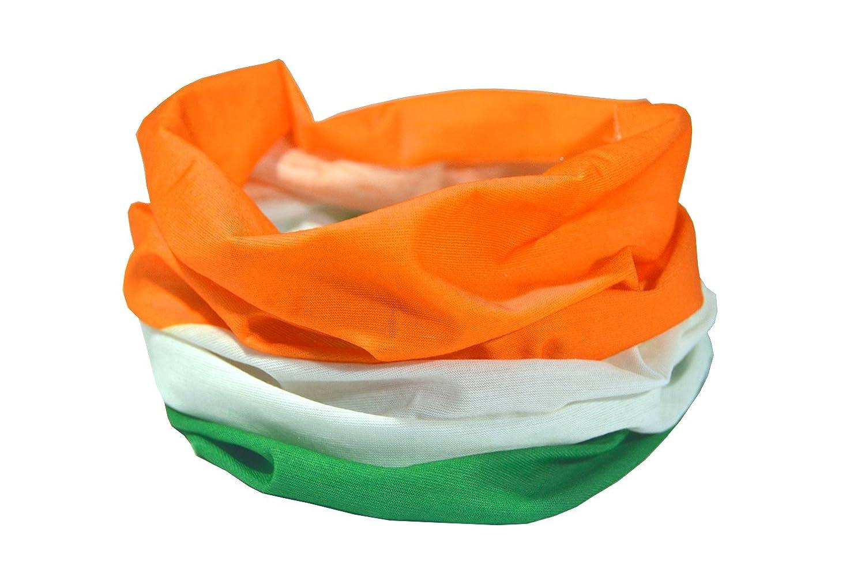 RUFFNEK Bandera of Irlanda/IRLANDÉ S Tricolor Bandera/Trí dhathach na hÉ ireann Multifuncional Prendas de Cabeza Calentador de Cuello Bufanda Gorro RUFFNEK®