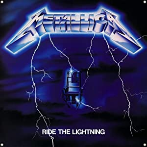 Daoops METALLICA Ride the Lightning flag 4x4ft BANNER