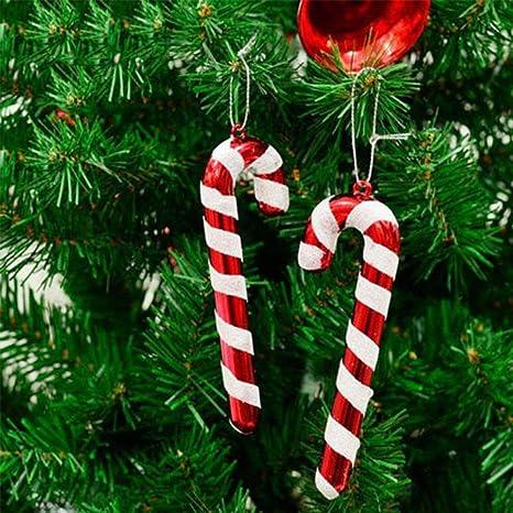 50pcs Colorful Christmas Candy Pendants Hanging Sweeties for Christmas Tree