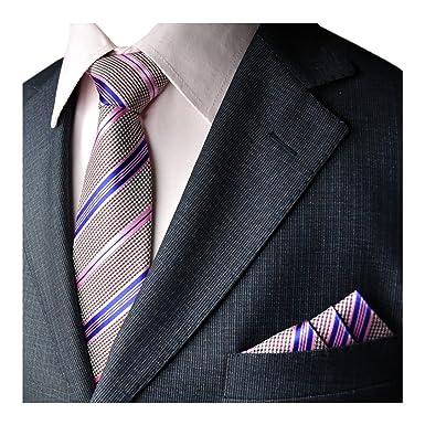 YCHENG Moda Conjunto de Corbata Hombre Paisley Corbatas Vintage ...