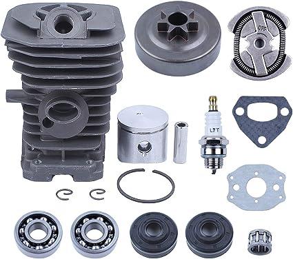 Haishine 38mm Motor Zylinder Kolbentrommel Wellendichtring Kit Für Husqvarna 142 141 137 136 Kettensägen Motorteile Baumarkt
