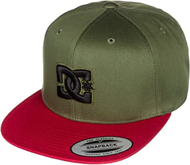 DC Shoes Snappy - Gorra para Hombre, Color Verde Oliva Oscuro ...
