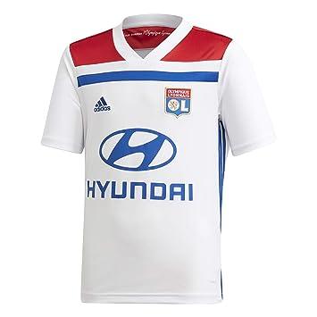 b444b18f adidas 2018-2019 Olympique Lyon Home Football Soccer T-Shirt (Kids ...