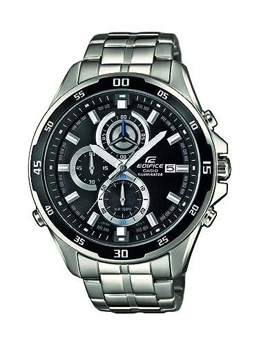 Casio Reloj Analogico para Hombre de Cuarzo con Correa en Acero Inoxidable EFR-547D-1AVUEF: Casio: Amazon.es: Relojes