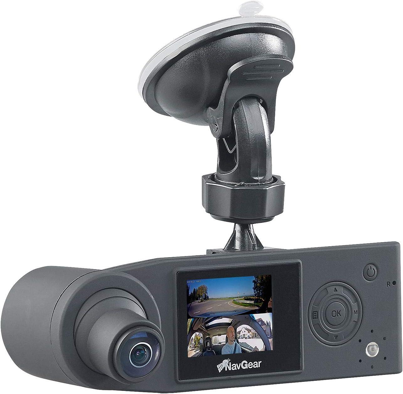 Navgear Dash Cam 360 Degree Full Hd Dash Cam With 2 Elektronik