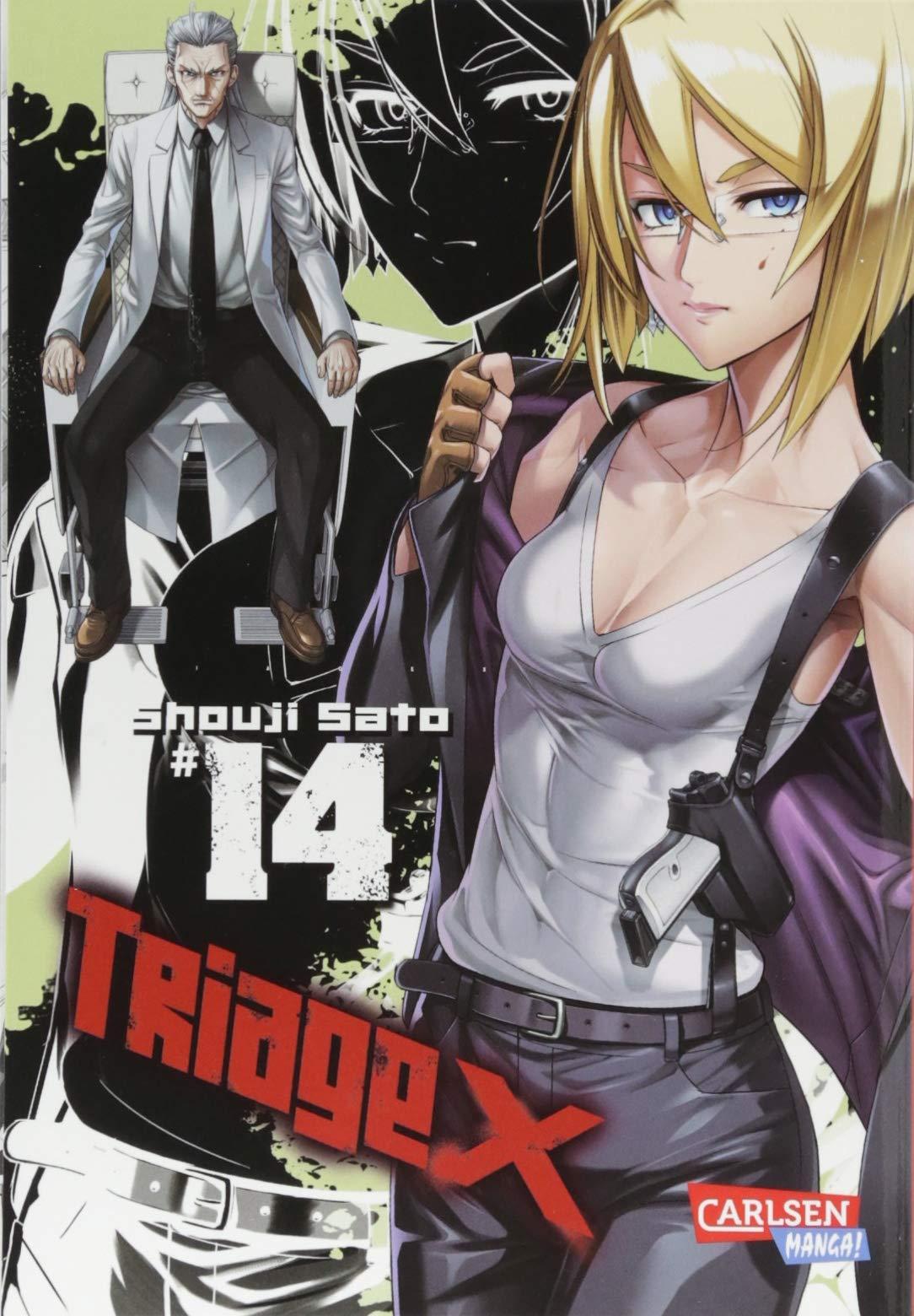 Triage X 14 Taschenbuch – 28. November 2017 Shouji Sato Hiro Yamada Carlsen 3551746842