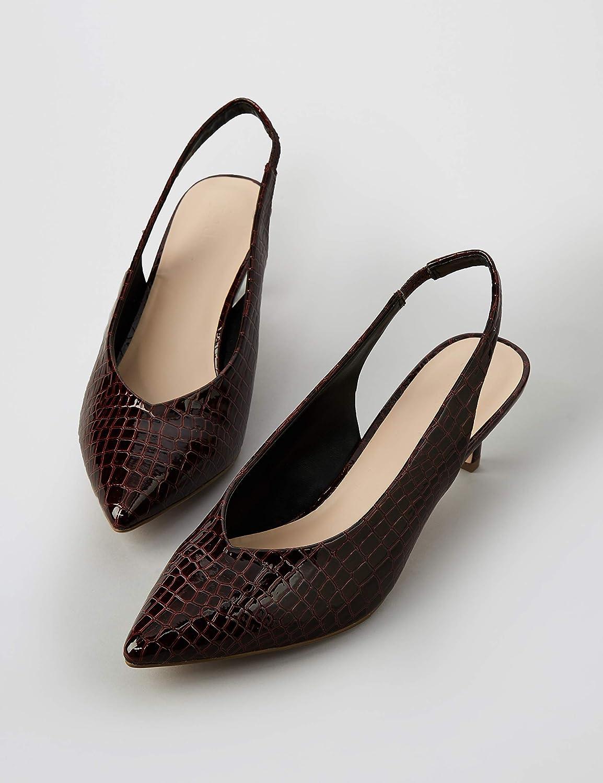 find Kitten Heel Sling Back Women/'s Mary Jane Brand