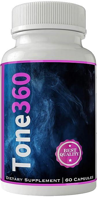Amazon.com: Quemador de grasa 360 tono 360 pastillas para ...