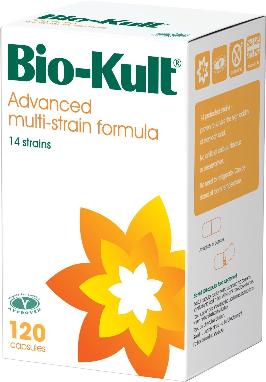 Bio-Kult Advanced Probiotic Multi-Strain Formula Capsules, 120 Capsules