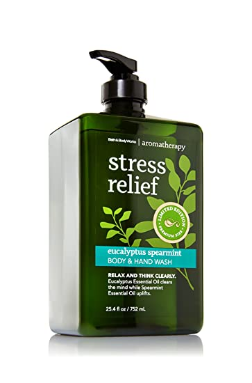 Bath Body Works Aromatherapy Eucalyptus Spearmint Hand And Body Wash Limited Premium Size   Ounce