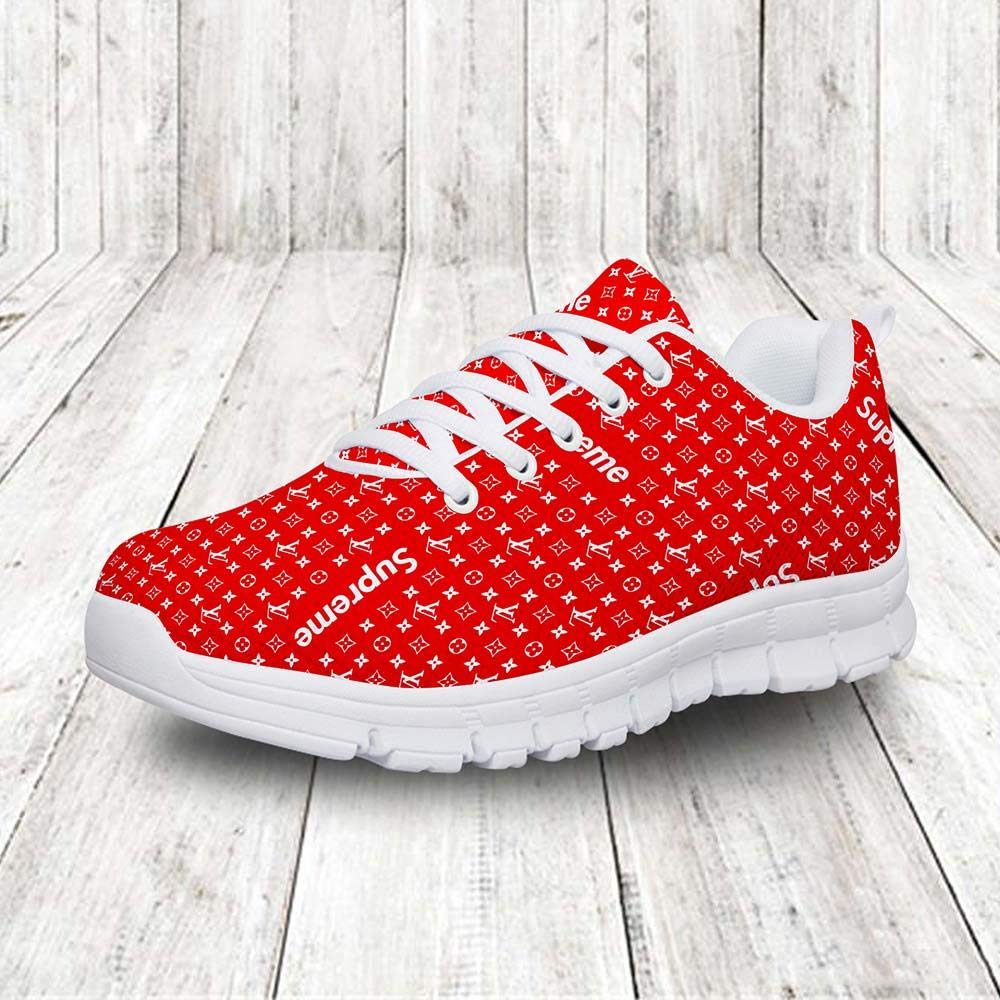 5a24b3a7bd98 Amazon.com  Unisex Supreme Louis Vuitton Sneaker  Handmade