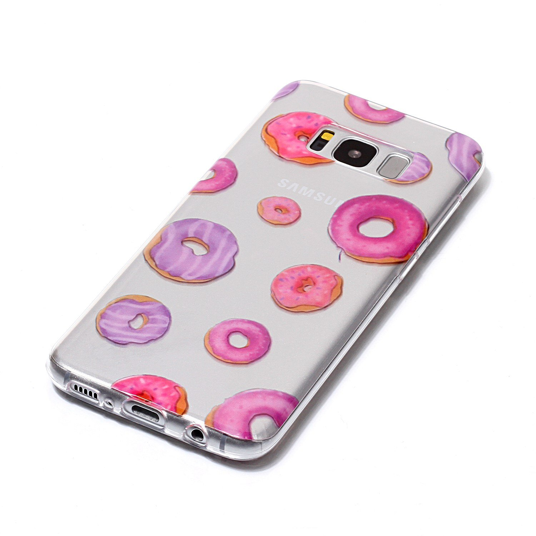 Galaxy S8 Case For Plus Merkuyom Clear Asoftcase Transparent Slim Fit Flexible Gel Soft Tpu Skin Cover Samsung