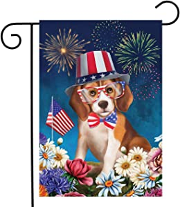"Briarwood Lane Celebrate Freedom Dog Garden Flag Patriotic 4th of July 12.5""x18"""