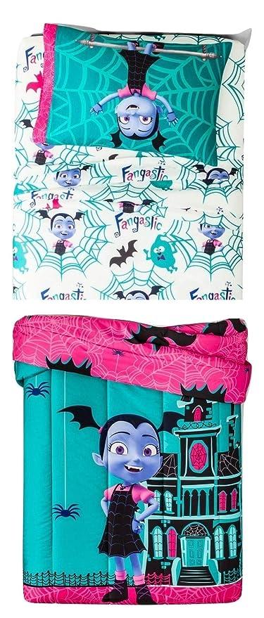 Amazon Com Vampirina Disney 4 Piece Bedding Set Comforter Sheets